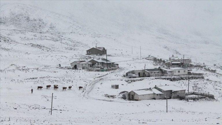 Karadeniz'de 5 ilin yüksek kesimlerinde kar etkili oluyor