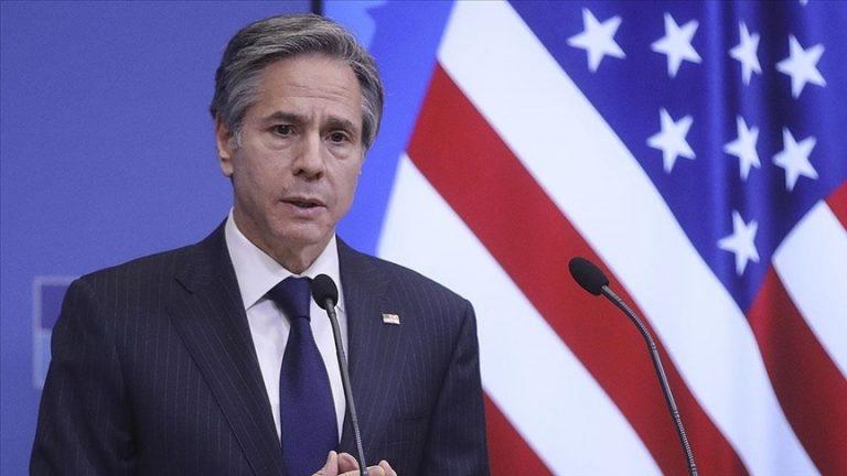 ABD Dışişleri Bakanı Blinken, bugünden itibaren Kabil'deki diplomatik varlıklarını askıya aldıklarını açıkladı
